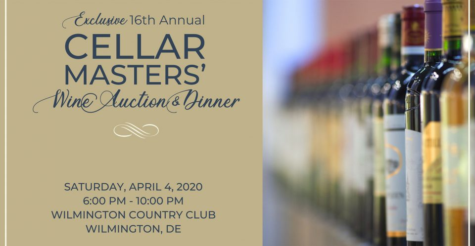 Cellar Masters' Wine Auction banner