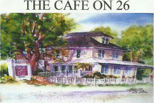 Cafe on 26 logo